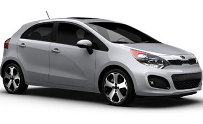 Kia Rio Economy Car Rental Car
